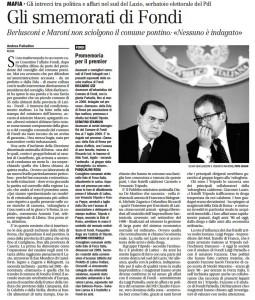 Il manifesto, 18 agosto 2009