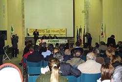 Fondi, 20 ottobre 2009, manifestazione di solidarietà dopo l'attentato a Bruno Fiore