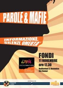 Don Ciotti a Fondi l'11 novembre